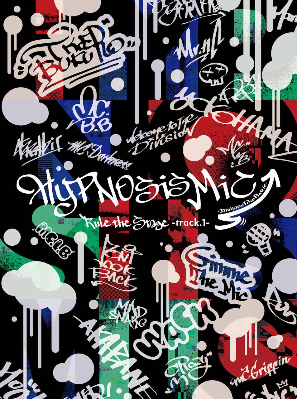 舞台『ヒプノシスマイク』track.1_BD・DVDパッケージ