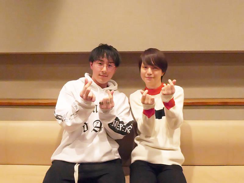 柚木夏紗(CV:河西健吾さん)&真行寺清一郎(CV:鈴木崚汰さん)