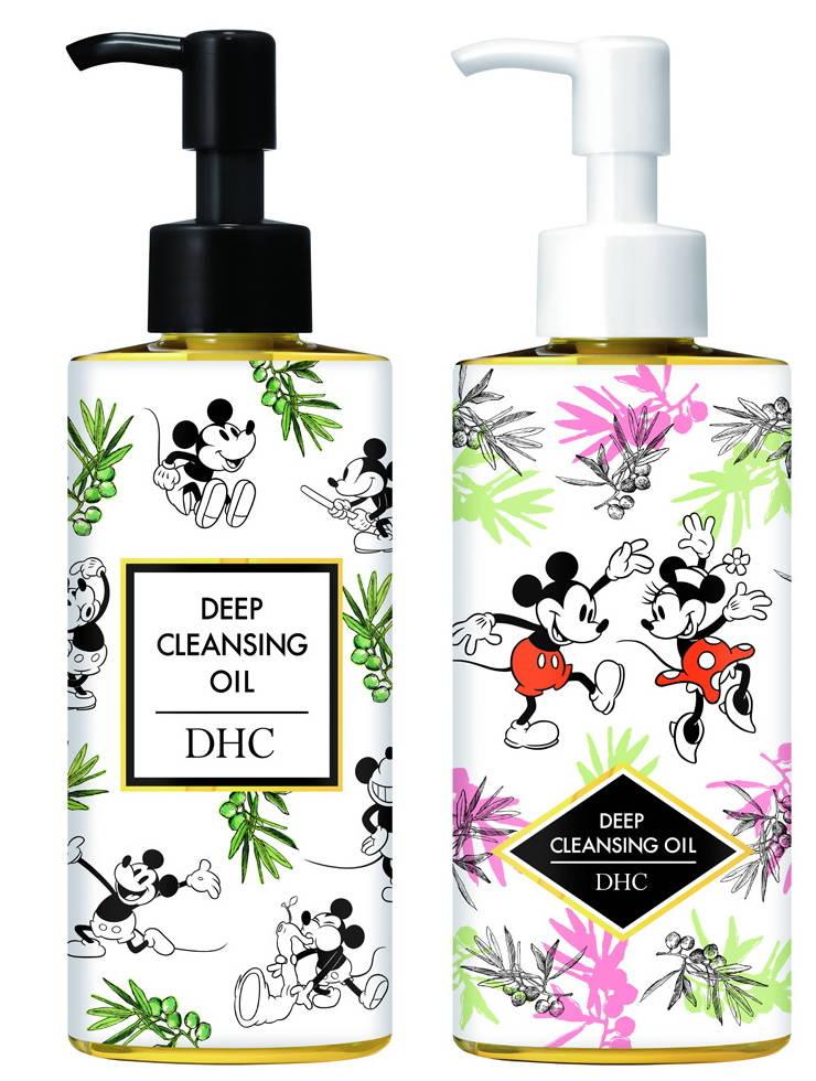 『ミッキー&ミニー』デザインの「DHC薬用ディープクレンジングオイル」&「DHCマイルドソープ」2