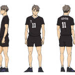 『ハイキュー!! TO THE TOP』稲荷崎高校の3名の新キャスト& キャラクタービジュアル3