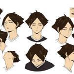 『ハイキュー!! TO THE TOP』稲荷崎高校の3名の新キャスト& キャラクタービジュアル8