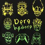 『ドロヘドロ』マスクジップアップパーカー7