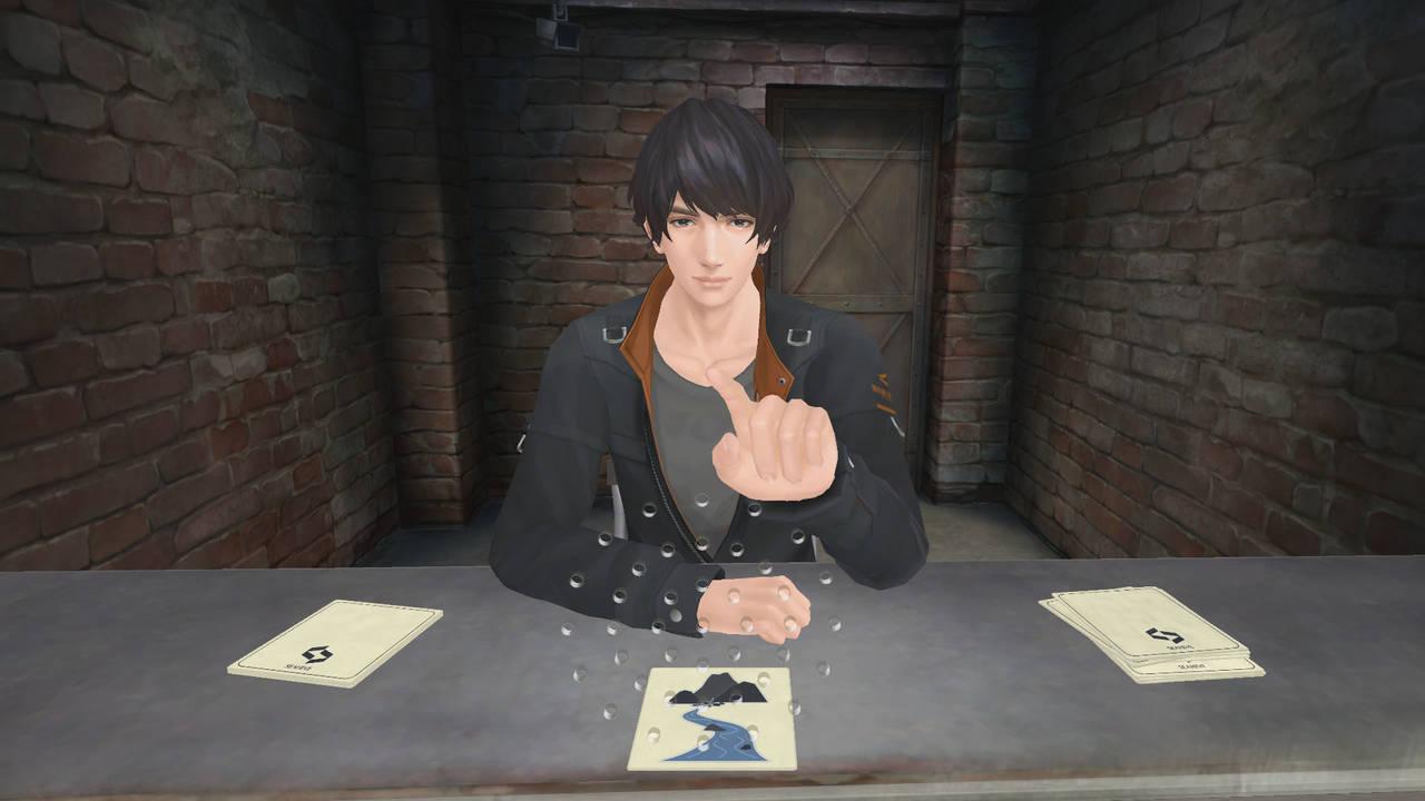 『囚われのパルマ Refrain』VR面会10