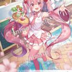 『桜ミク』コラボレーションカフェ5