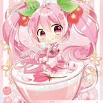 『桜ミク』コラボレーションカフェ7