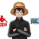 『ONE PIECE』人気スポーツブランド・Kappaとのコラボアイテム発売!