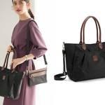 進化した「観劇バッグ」が好評!パンフレットやフライヤーが綺麗に持ち帰ることができる!