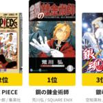 """『銀魂』は第3位! """"#私を構成する5つのマンガ""""が発表 画像2"""
