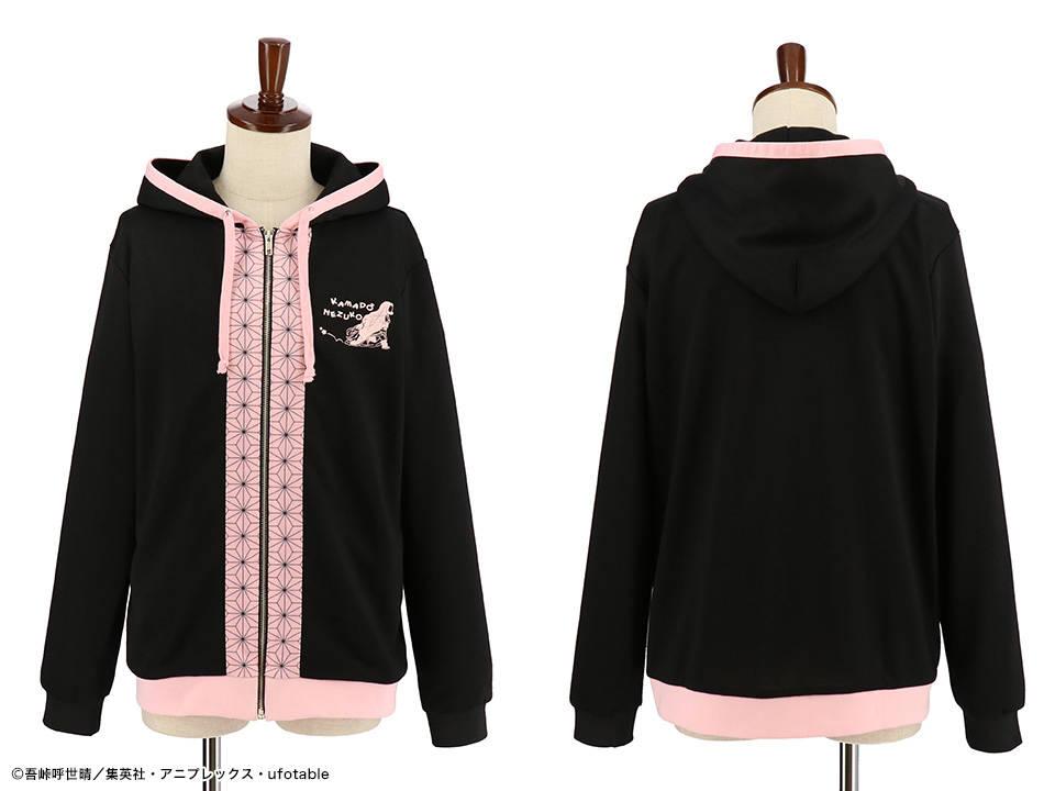 『鬼滅の刃』禰豆子のパーカーが発売決定!着物の柄がデザインに!12