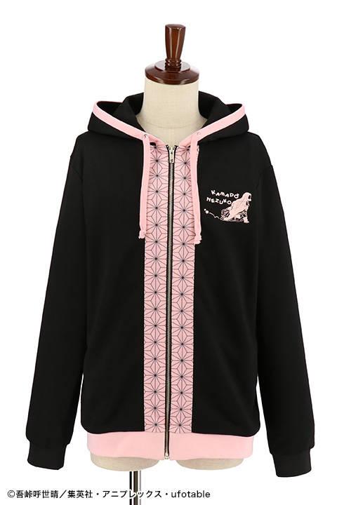 『鬼滅の刃』禰豆子のパーカーが発売決定!着物の柄がデザインに!2