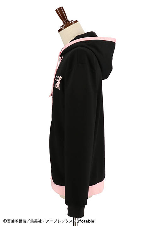 『鬼滅の刃』禰豆子のパーカーが発売決定!着物の柄がデザインに!3