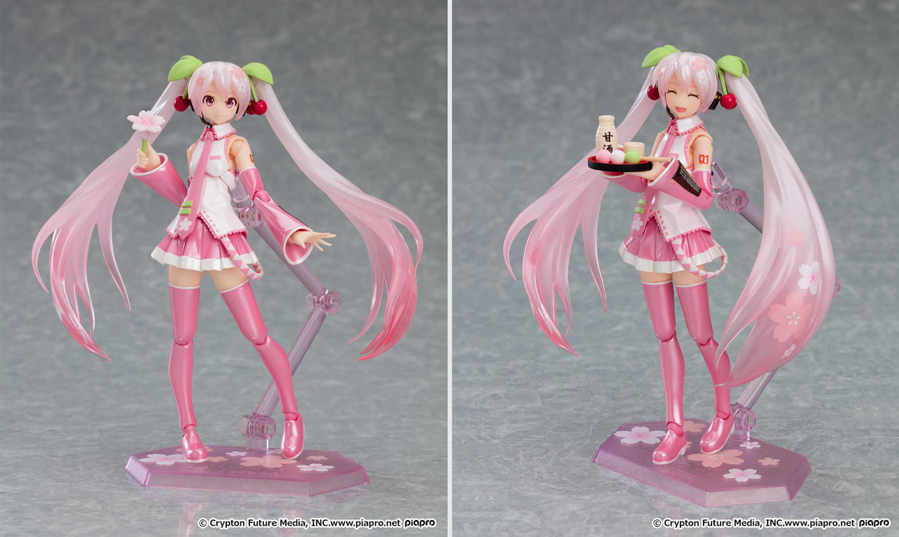 『桜ミク』がフィギュアになった1
