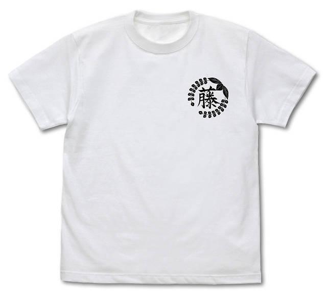「鬼滅の刃」藤の花の家紋 Tシャツ