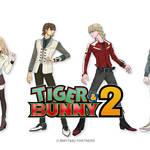 『TIGER & BUNNY 2』メインキャラ6名の新ビジュアル&キャスト