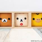 リラックマ_ハンドクラフト「押絵箱板」7
