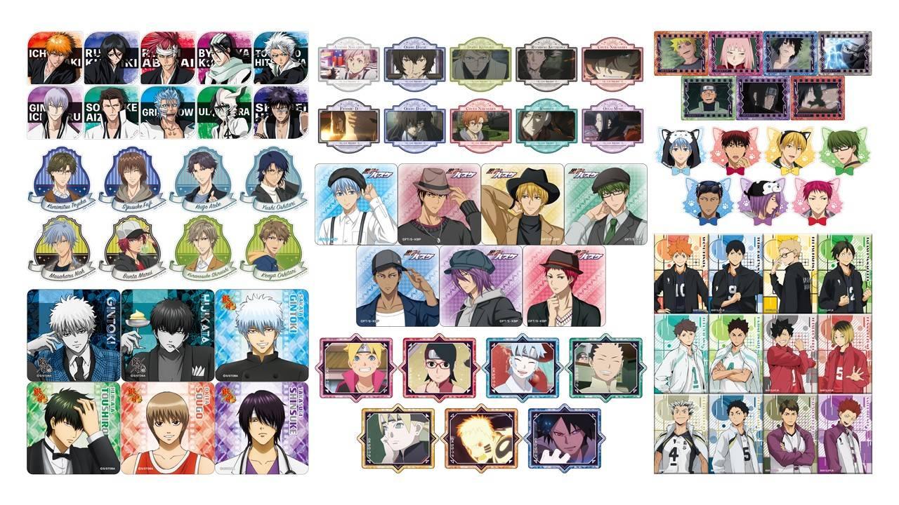 『銀魂』『黒子』『文スト』など人気作がずらり!「アニメジャパン2020」ブロッコリーブースのグッズが発売