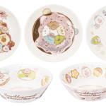 F賞:食器コレクション(全5種)スイーツプレート:約11cm、デザートボウル:約12cm