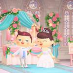 「あつ森結婚式」したいあなたへ♪ ウエディングドレスの無料配布がスタート2