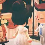 「あつ森結婚式」したいあなたへ♪ ウエディングドレスの無料配布がスタート3