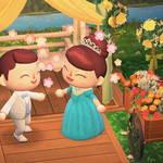 「あつ森結婚式」したいあなたへ♪ ウエディングドレスの無料配布がスタート4