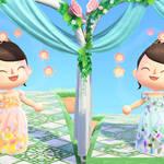 「あつ森結婚式」したいあなたへ♪ ウエディングドレスの無料配布がスタート6