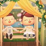 「あつ森結婚式」したいあなたへ♪ ウエディングドレスの無料配布がスタート7