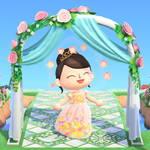 「あつ森結婚式」したいあなたへ♪ ウエディングドレスの無料配布がスタート9