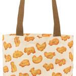 C賞:たべっ子どうぶついっぱいバッグ(全1種)約30cm2