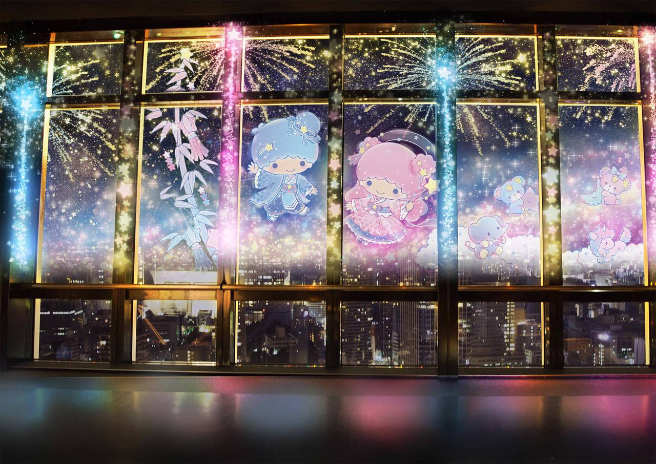 キキ&ララ × 東京タワー
