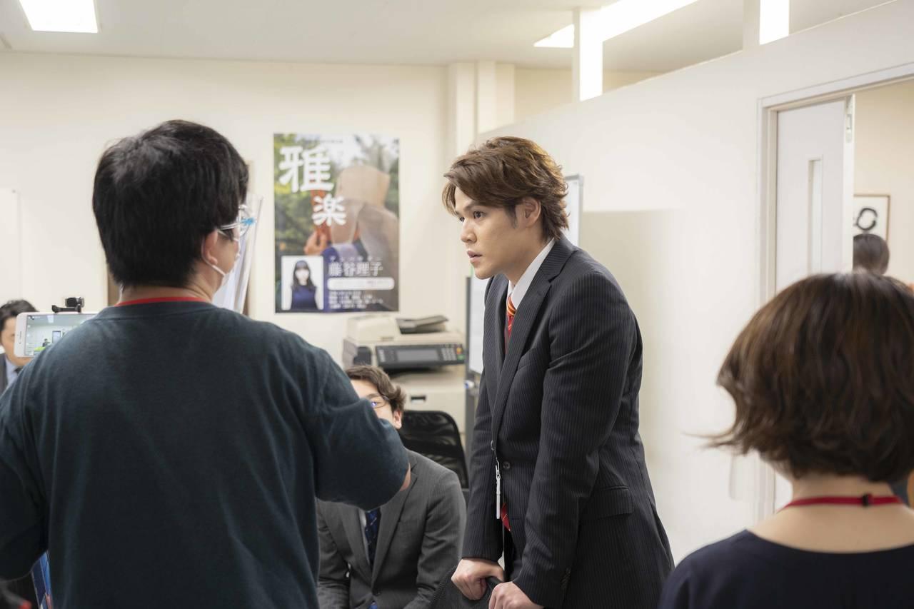 宮野真守が主演!ワンカメラ長回しドラマ「U.F.O.たべタイムリープ」撮影の様子とコメントが到着2