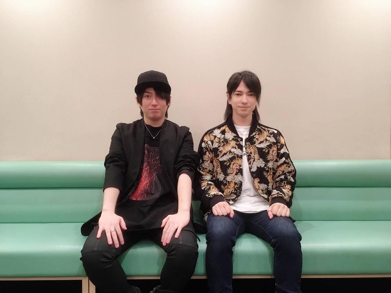 「8P(エイトピース)」ユニットソングドラマCD第3巻収録後の野上翔&ランズベリー・アーサーのインタビュー