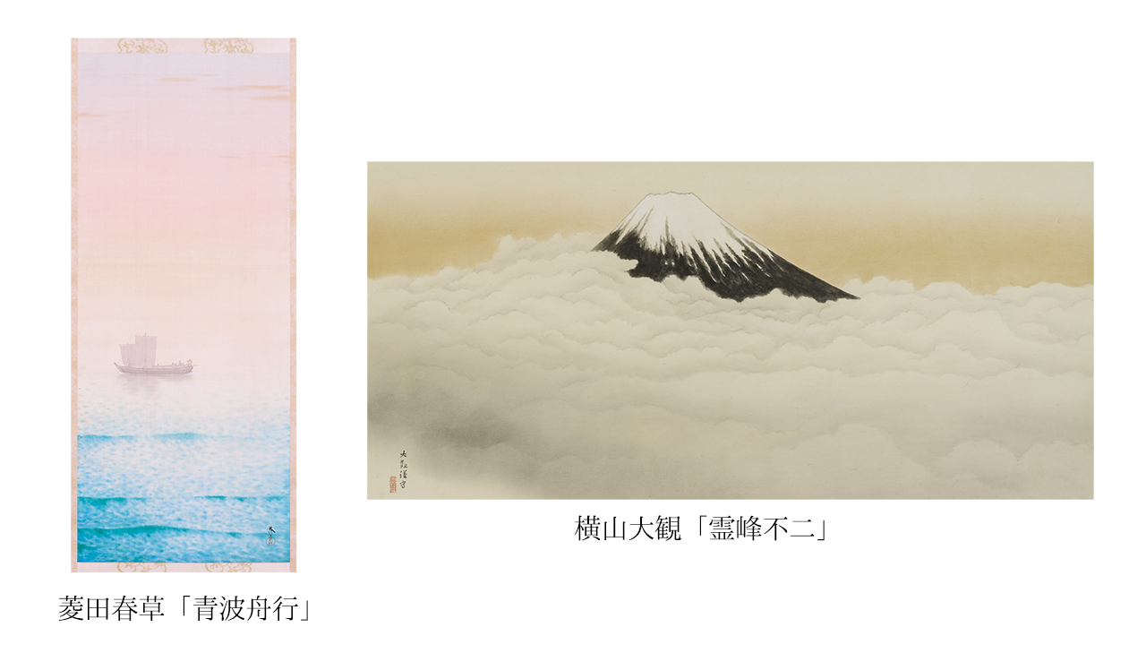 『明治東亰恋伽(めいこい)』京都 嵐山の福田美術館とコラボが決定! 菱田春草・横山大観の作品を使用したグッズも2