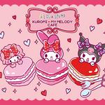 EGG&SPUMA×クロミ&マイメロディのコラボカフェ「KUROMI♡MY MELODY CAFE」