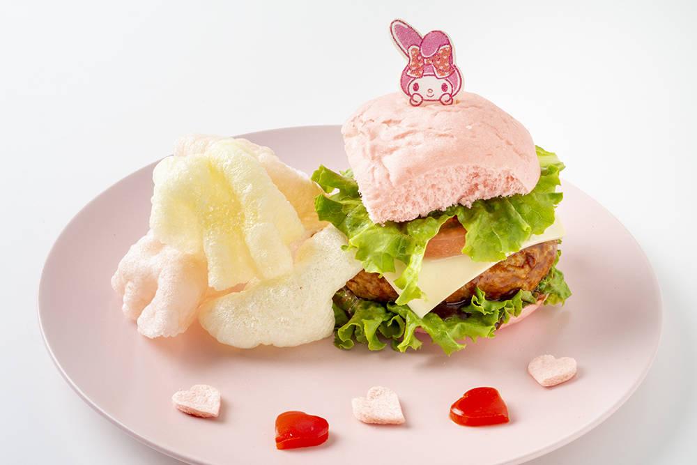 EGG&SPUMA×クロミ&マイメロディのコラボカフェ「KUROMI♡MY MELODY CAFE」2
