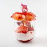 EGG&SPUMA×クロミ&マイメロディのコラボカフェ「KUROMI♡MY MELODY CAFE」3