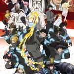 『炎炎ノ消防隊』TVアニメ第2期、メインビジュアル&本PVが公開!