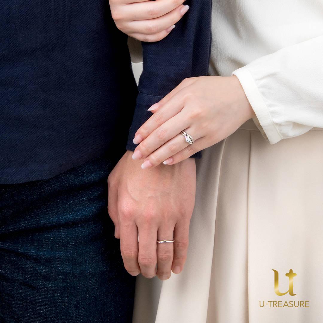 シナモロール_ 婚約指輪・結婚指輪2