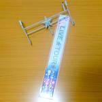 「コンサートグッズ 銀テープホルダー 30mm」1