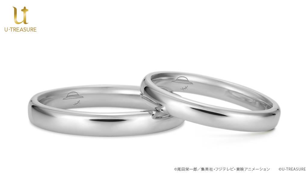 『ONE PIECE』結婚指輪が登場! 麦わらの一味や海賊旗など68種類の刻印が選べる♪2