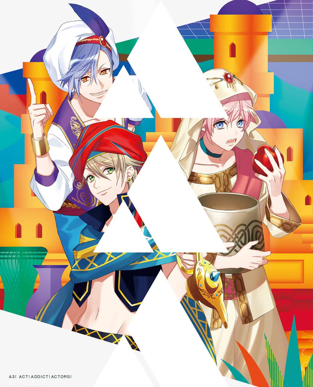 TVアニメ『A3!』Blu-ray&DVD第4巻のジャケット画像公開!ドラマCDの試聴も開始3