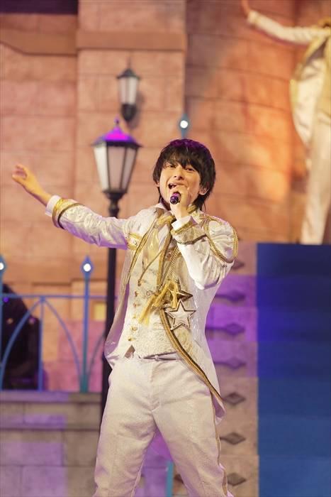 「Disney 声の王子様」純白の王子衣装