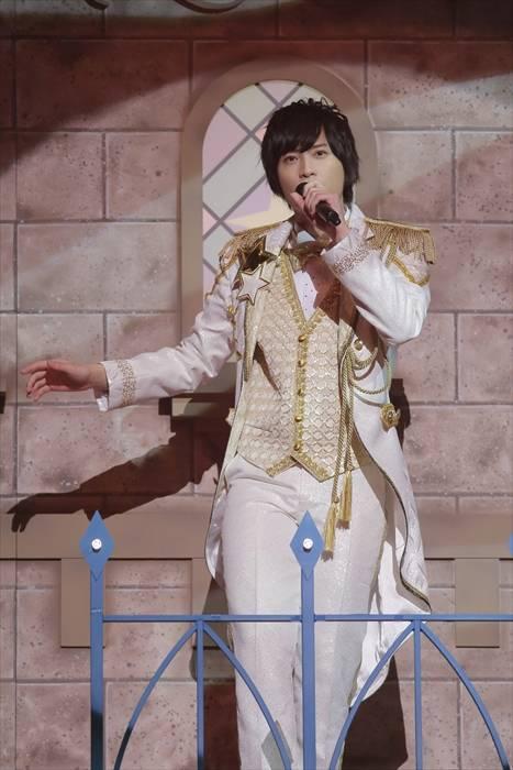 「Disney 声の王子様」純白の王子衣装2