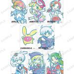 『ぷよぷよ』コラボショップが開催!人気キャラクターたちがかわいいデフォルメ仕様に12