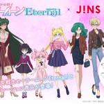 劇場版「美少女戦士セーラームーンEternal」×JINS×BANDAI