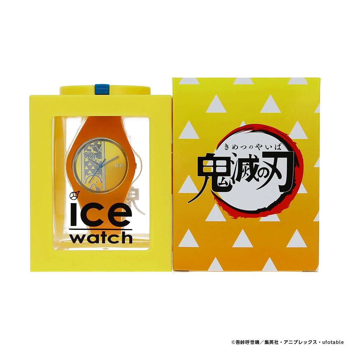 03.「鬼滅の刃」× ICE-WATCH コラボレーションウォッチ 我妻善逸 モデル8