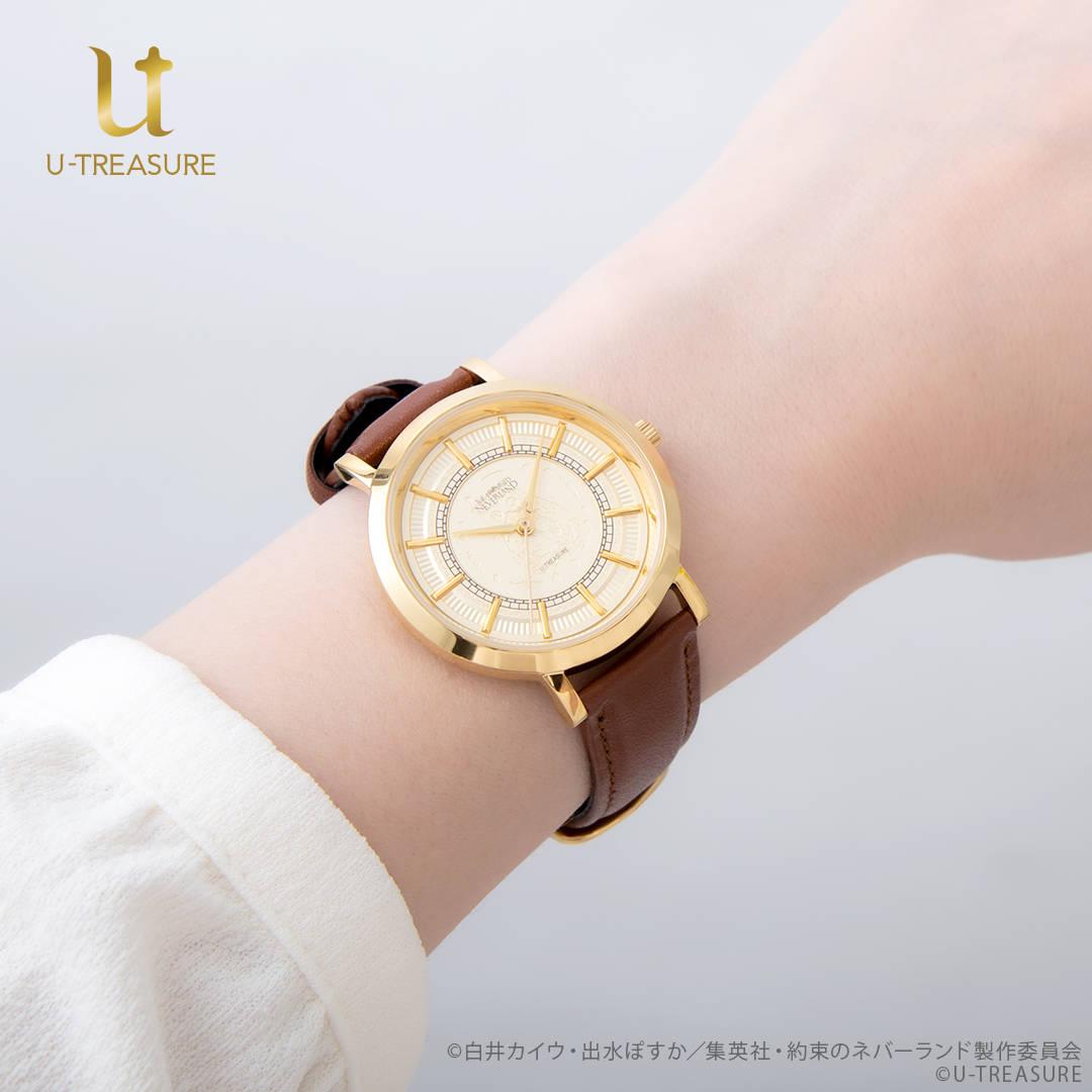 『約束のネバーランド』作品の世界観イメージの腕時計が登場!2