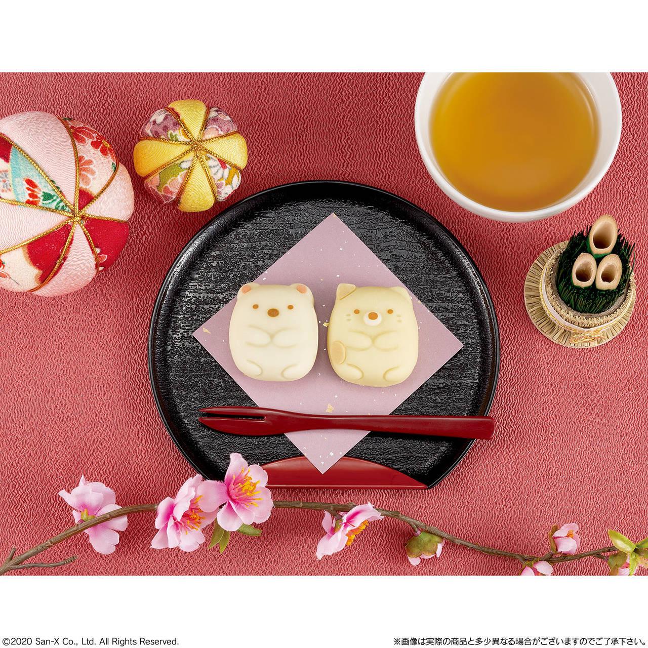 「すみっコぐらし」×和菓子「食べマス」