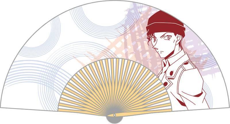 『名探偵コナン』コナン、キッド、安室など人気キャラクターの本格扇子が登場!5