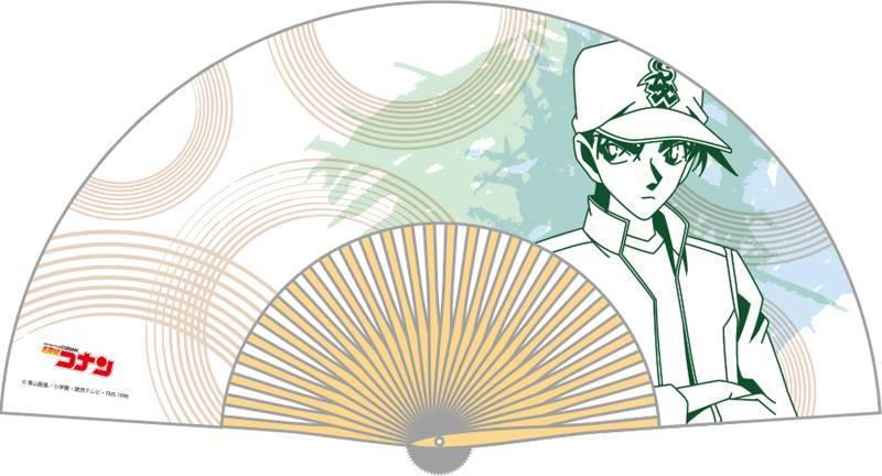『名探偵コナン』コナン、キッド、安室など人気キャラクターの本格扇子が登場!7