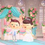 『あつまれ どうぶつの森』Yumi Katsuraウエディングドレス・カラードレスより